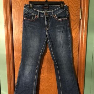 Women's Seven7 Size 4 Boot Cut Jeans Casual